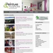 creation site internet peintre batiment rouen