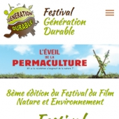 creation web mobile festival culturel bernay