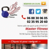 creation web mobile salle sport yvetot