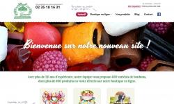 creation site internet commerce bonbons grand quevilly rouen
