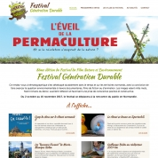 creation site internet festival culturel bernay