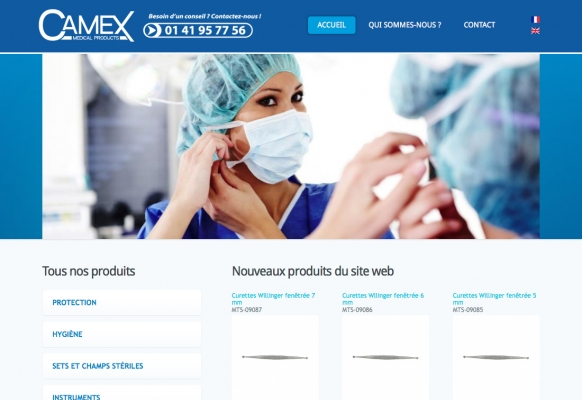 creation site internet materiel medical fontenay sous bois